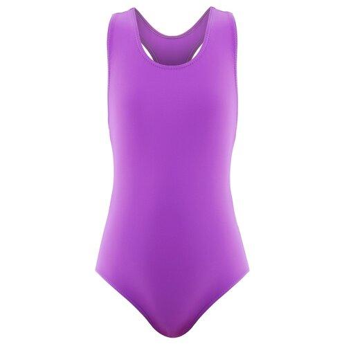 Купальник для плавания сплошной (1006) фиолетовый р.30 4609180