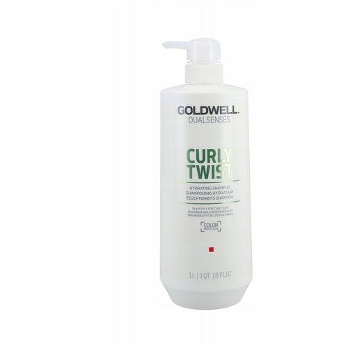 Купить Goldwell Dualsenses Curly Twist Hydrating Shampoo - Увлажняющий шампунь для вьющихся волос 1000 мл