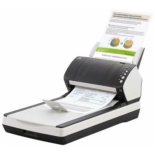 Сканер Fujitsu fi-7240 черный/белый