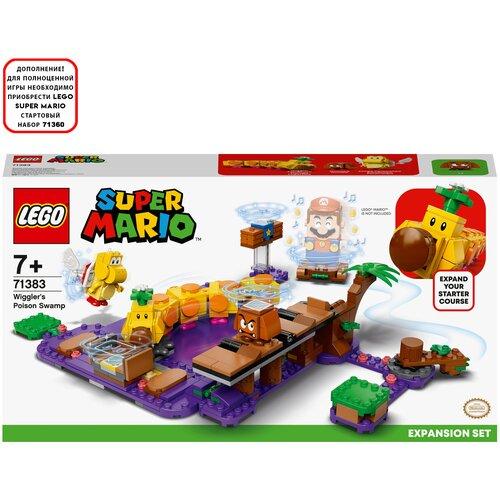 Конструктор LEGO Super Mario 71383 Дополнительный набор Ядовитое болото егозы