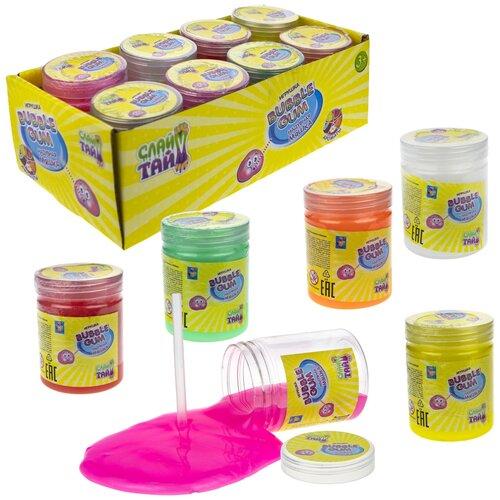 Фото - Лизун 1 TOY Мяшка Мелкие пакости Bubble Gum Т15427 развивающие игрушки 1 toy мелкие пакости лизун шлепок нога