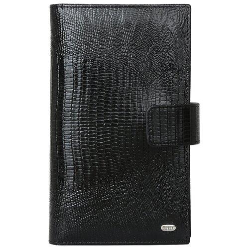 Бумажник путешественника Petek 1855 2394.41P.01 Black