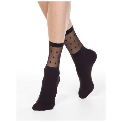 Капроновые носки Conte Elegant 19С-29СП, размер 23-25, grafit