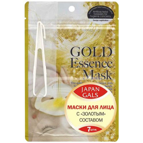 Купить Japan Gals Маска для лица с золотым составом, 7 шт.