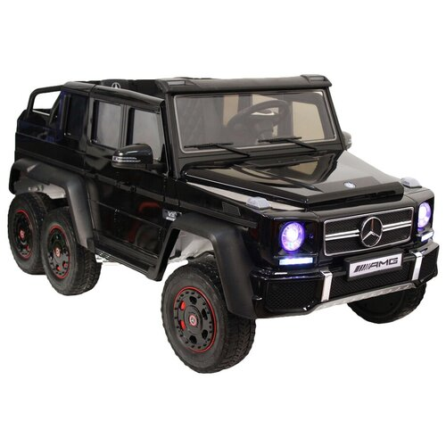 Купить RiverToys Автомобиль Mercedes-Benz G63 AMG 4 WD X555XX, black, Электромобили