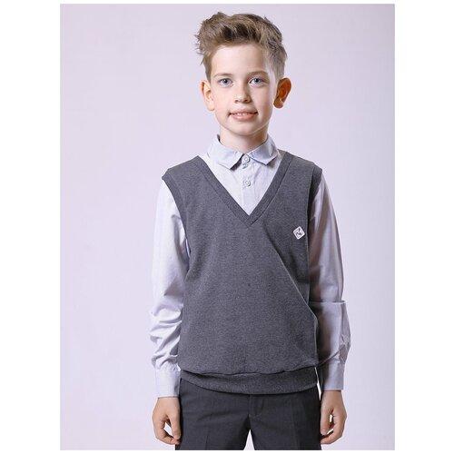 Рубашка Nota Bene размер 152, темно-серый