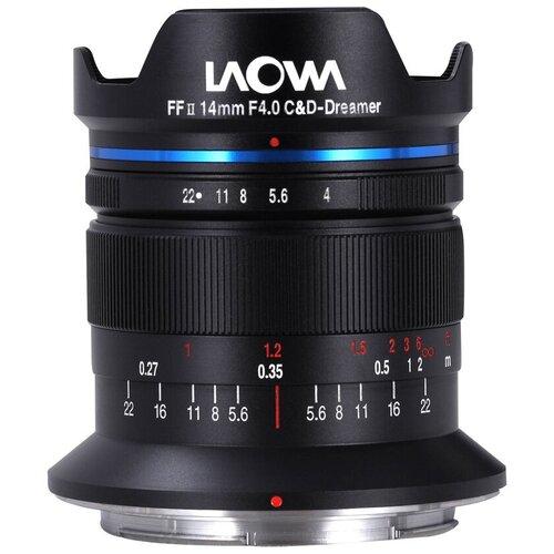 Фото - Объектив Laowa 14mm f/4 FF RL Zero-D Nikon Z черный объектив laowa 15mm f 4 5 zero d shift nikon z черный