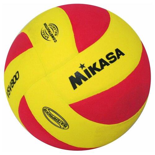 Волейбольный мяч Mikasa VSV800 красно-желтый