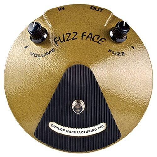 Dunlop педаль EJF1 Eric Johnson Fuzz Face dunlop ffm4 joe bonamassa fuzz face mini distortion limited edition pedal