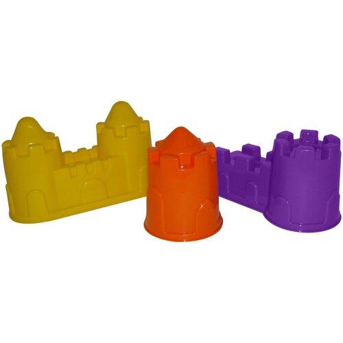 Фото - Набор Полесье замок башня + замок стена с двумя башнями + замок мост 37251 набор полесье замок башня замок стена с двумя башнями замок мост 37251