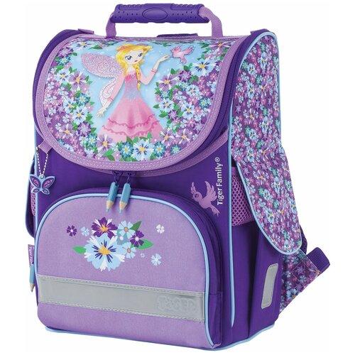 TIGER FAMILY ранец Nature Quest Blissful Fairy (TGNQ-044A), фиолетовый tiger family ранец nature quest deer fantasy tgnq 046a розовый