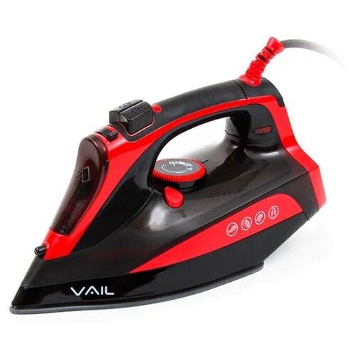 Утюг VAIL VL-4000 красный/черный