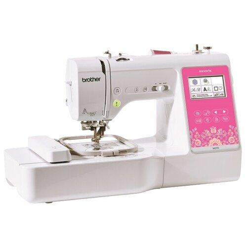 Фото - Швейная машина Brother INNOV-'IS M270, бело-розовый швейная машина brother hanami 17 бело розовый
