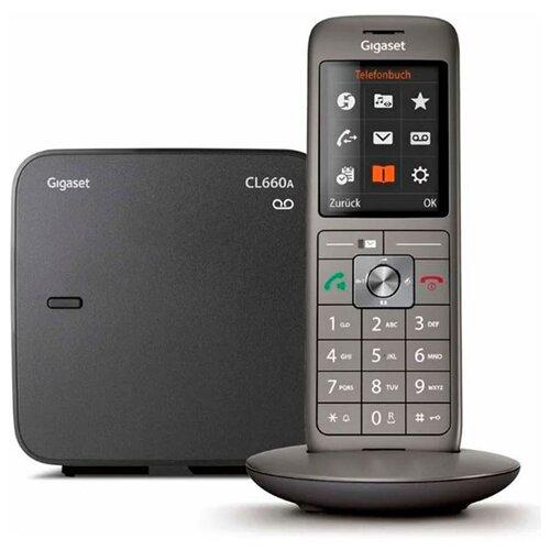 Фото - Радиотелефон Gigaset CL660A Black радиотелефон gigaset cl660a черный