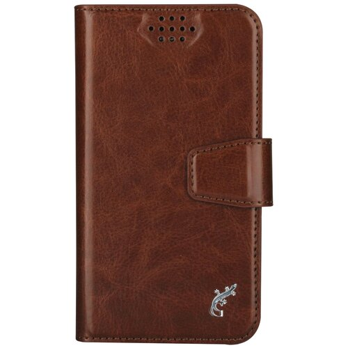 Чехол-книжка универсальный G-Case Slim Premium (GG-759/GG-760/GG-761/GG-762/GG-763/GG-764/GG-765/GG-766/GG-767/GG-768) коричневый