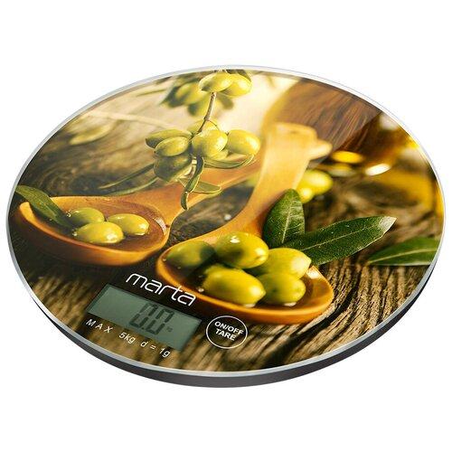 Кухонные весы MARTA MT-1640 олива