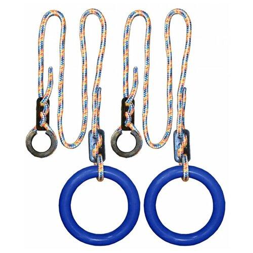 Купить Кольца гимнастические круглые 2 для Детского Спортивного Комплекса blue, Формула здоровья, Игровые и спортивные комплексы и горки