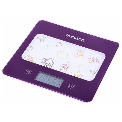 Кухонные весы Oursson KS0501GD/SP