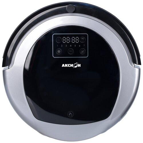 Робот-пылесос Аксион РС22, серебристый/черный