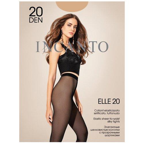 Колготки Incanto Elle, 20 den, размер 5-XL, melon (бежевый)
