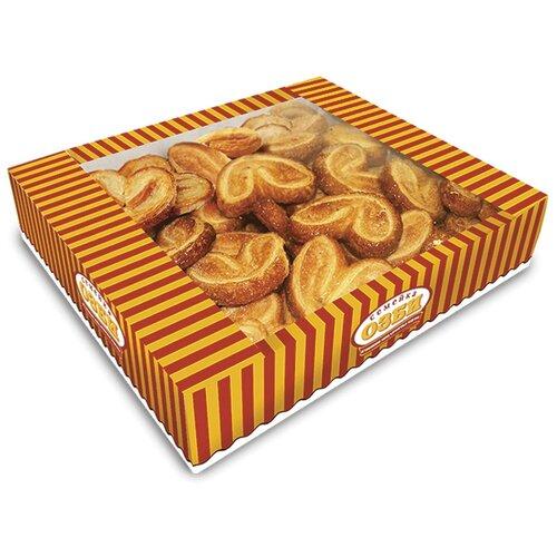 Печенье Семейка ОЗБИ слоеное Мини-плюшки с сахаром, 500 г печенье слоеное 550г мон шарме
