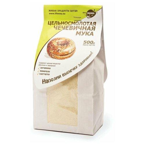 Мука Образ Жизни Алтая чечевичная цельносмолотая, 0.5 кг