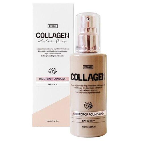Pekah Тональный крем Collagen Water Drop, 100 мл, оттенок: 23 натурально-бежевый