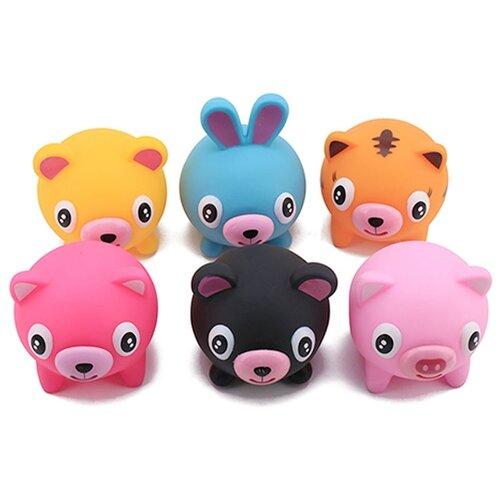 Игрушка-мялка Junfa toys Покажи язык разноцветный