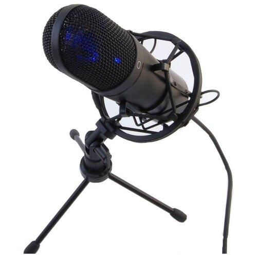 Микрофон Recording Tools MCU-01 + стойка и амортизатор, черный
