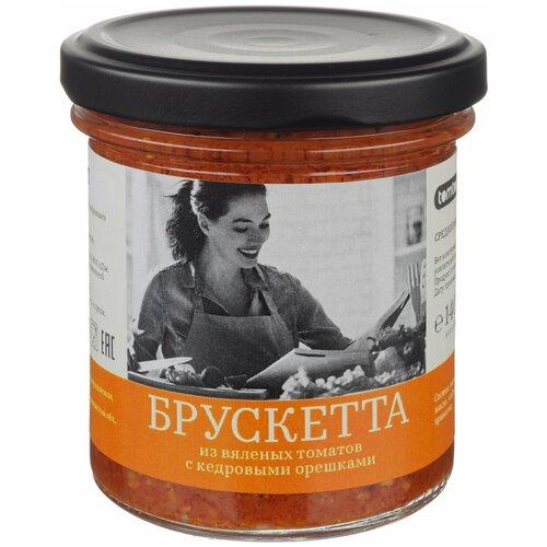 Фото - TomTom Брускетта из вяленых томатов с кедровыми орешками 140 г tomtom брускетта из вяленых томатов с кедровыми орешками 140 г