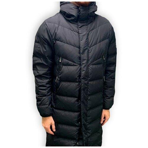 Пуховик мужской MIKASA MT920 0049 MT9200049-7 размер 58 цвет черный