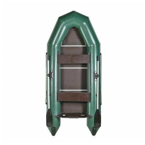 Надувная лодка Чирок 290Т зеленый
