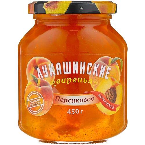 Фото - Варенье Лукашинские персиковое, банка, 450 г варенье лукашинские черничное банка 450 г