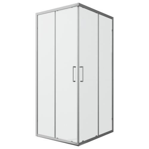 Душевой уголок BRAVAT Line без поддона две раздвижные двери 90x90x200 (BS090.2202A)