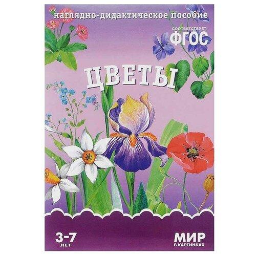 Фото - Набор карточек Мозаика-Синтез ФГОС Мир в картинках. Цветы 29.5x20.5 см 8 шт. набор карточек агабум цветы 20 шт