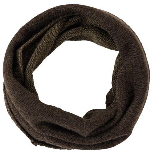 Шарф мужской Finn Flare, цвет: темно-коричневый A20-42129_601, размер: Единый