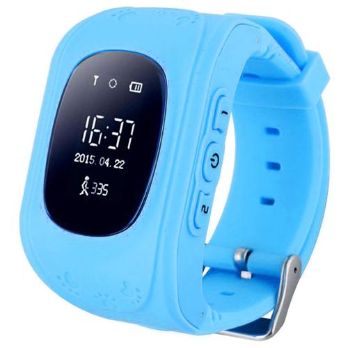 Детские смарт часы-телефон с gps Wokka Lokka WL Q50 голубой