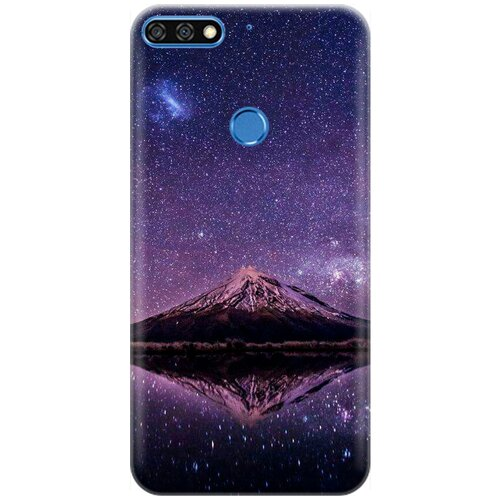 Силиконовый чехол на Huawei Y6 Prime (2018) / Honor 7C / Honor 7A Pro / Хуавей У6 Прайм 2018 / Хонор 7А Про / Хонор 7С с принтом