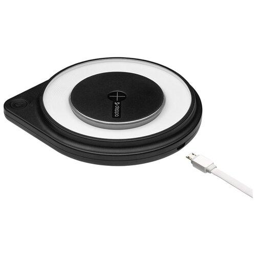Фото - Зарядное устройство Deppa Qi Fast Charger 24008 зарядное устройство deppa 24001 white