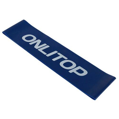 Эспандер лента Onlitop 3791279 61 х 7.6 см синий