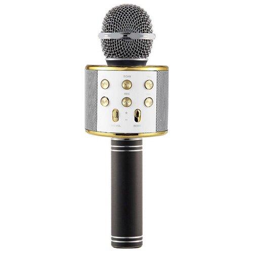 Беспроводной караоке-микрофон WS-858 (голубая ночь)