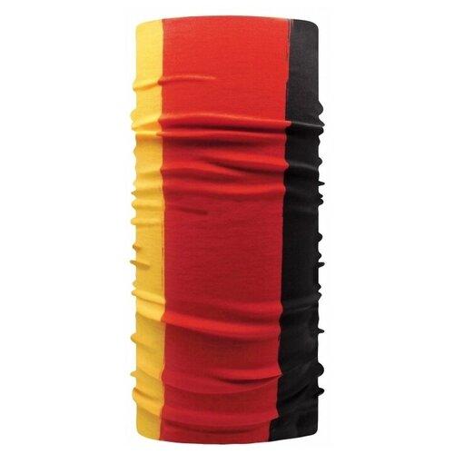 Шарф-маска (бафф, балаклава, снуд) «Германия», Евробандана, чёрный красный жёлтый