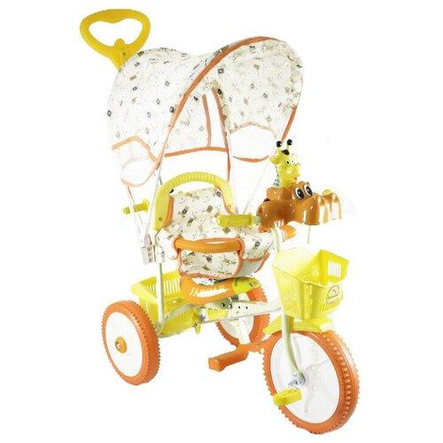 Купить Трехколесный велосипед JAGUAR MS-0737, оранжевый, Трехколесные велосипеды