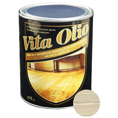 Масло-воск Живая краска VITA OLIO для паркета, лестниц и мебели, дуб обыкновенный, 0.75 л