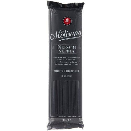 Фото - La Molisana Макароны Spaghetti с чернилами каракатицы, 500 г la molisana spa макароны rigatoni 31 500 г