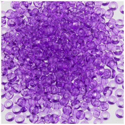 Бисер круглый PRECIOSA 2, 3 мм, 500 г, 01123, Ф329 темно-фиолетовый, Фурнитура для украшений  - купить со скидкой