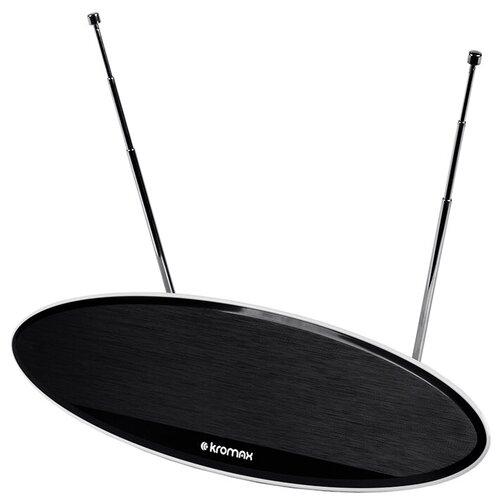 Фото - Комнатная DVB-T2 антенна Kromax TV FLAT-04 комнатная антенна kromax flat 06 black