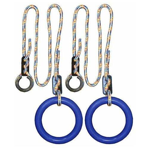 Кольца гимнастические круглые 01 В (Синий)