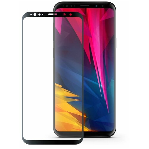 Защитное стекло Mobius 3D Full Cover Premium Tempered Glass для Samsung Galaxy S9 Plus черный защитное стекло mobius 3d full cover premium tempered glass для samsung galaxy a6 2018 черный