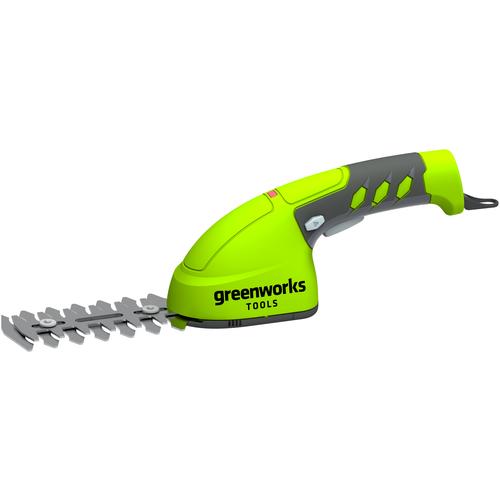Фото - Ножницы-кусторез аккумуляторный greenworks 1600107 10 см ножницы кусторез бензиновый echo hcr 165es 64 см